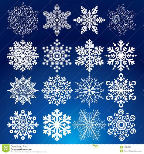 decorative snow stock photography image 17324352