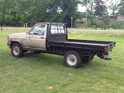 flatbed ford ranger find used 1990 ford ranger 4 wheel drive with custom all