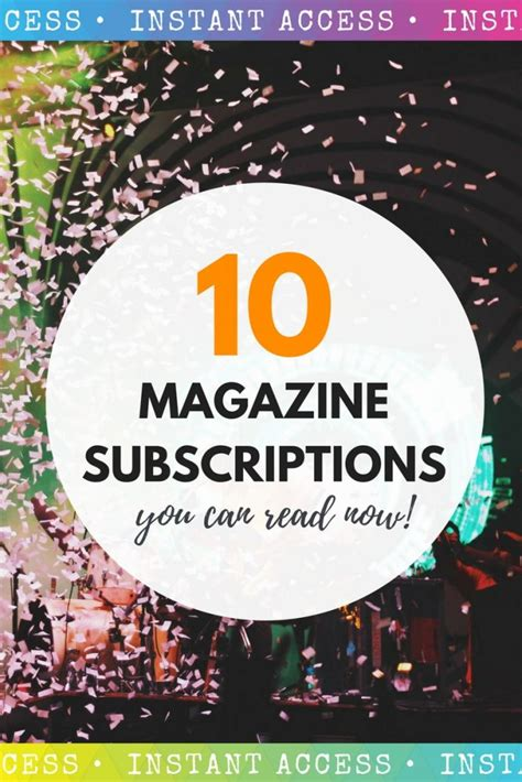 10 Magazine Subscriptions top 10 magazine subscriptions you can read now