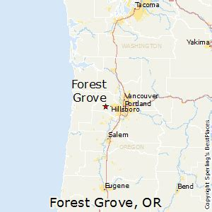 best places to live in forest grove oregon