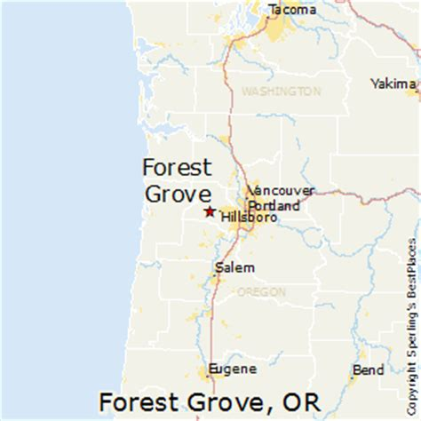 forest grove oregon map best places to live in forest grove oregon