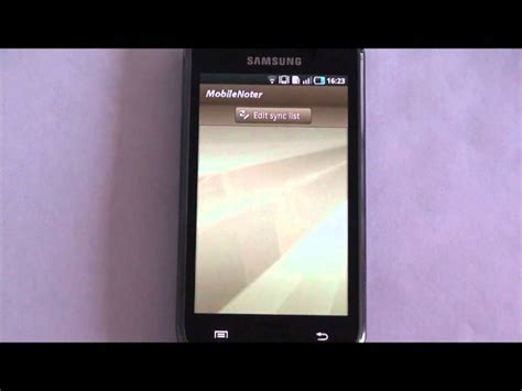 tutorial onenote android mobilenoter se your onenote client for android video