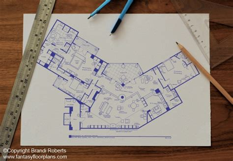 The Sopranos House Floor Plan Frasier Apartment Floor Plan Buy A Poster Of Frasier Crane S Home