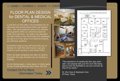 office design floor plans enviromed design dental office design office design architect urgent care