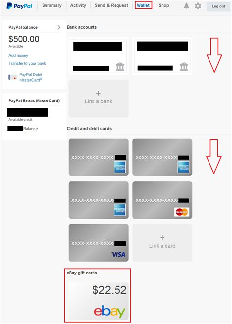 How To Use A Gift Card On Paypal - find hidden ebay gift cards in your paypal account