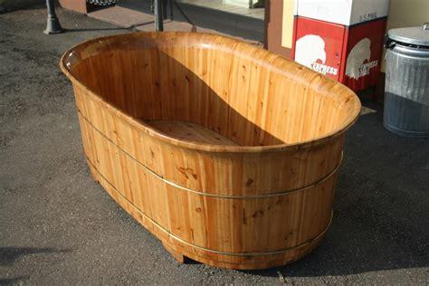 vasche da bagno legno oggettistica da negozio vasca in legno