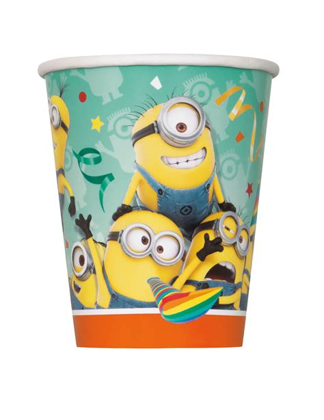 Set Minion set minions bekers decoratie en goedkope