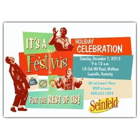 festivus card template best 25 seinfeld festivus ideas on festivus