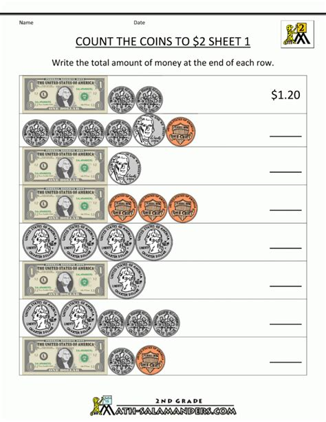 printable math worksheets on money free printable money math worksheets kelpies