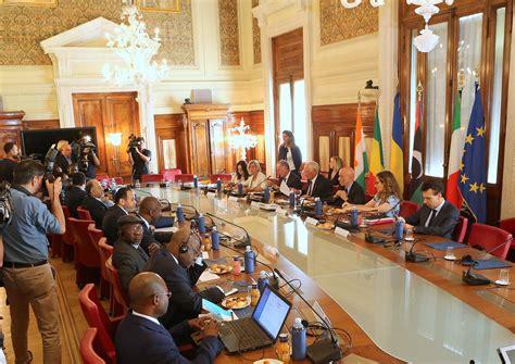 ministri dell interno incontro ministro minniti con ministri dell interno