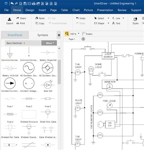 schematic drawing app schematic diagram software free or app