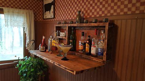 wall mounted bar cabinet rustic murphy bar wall mount bar man cave liquor cabinet