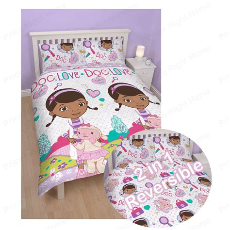 doc mcstuffins bedroom bedding duvet covers etc range