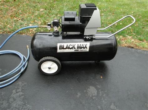 black max coleman powermate air compressor