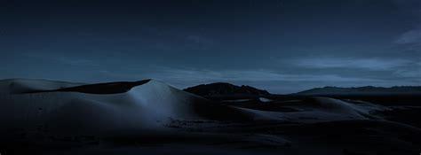 wallpaper macos mojave night dunes  os