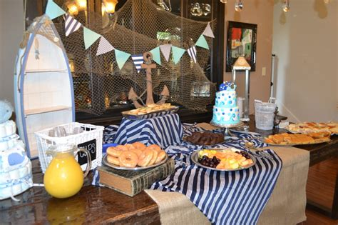 nautical baby shower food ahoy it s a boy nautical baby shower project nursery