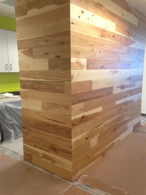 natural pecan character grade   plank walls wood