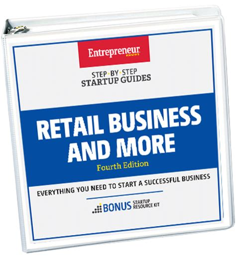 retail business plan essential parts retail business and more step by step startup guide 4th