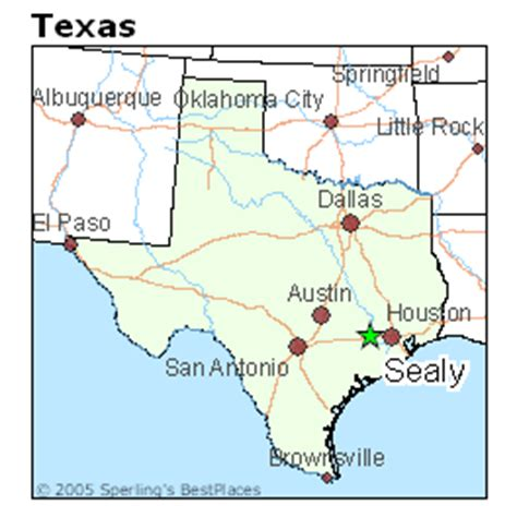 map of sealy texas best places to live in sealy texas