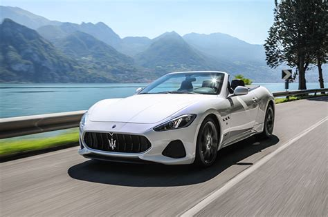 maserati white 2017 photos maserati 2017 grancabrio mc luxury cabriolet white