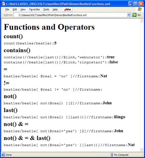 xpath replace pattern xpath webucator
