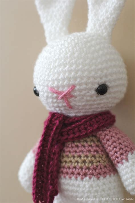 amigurumi pattern bunny crochet amigurumi bunny marley bunny