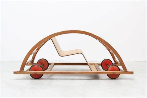 swing car toy schaukelwagen swing and race car toy for sale at 1stdibs