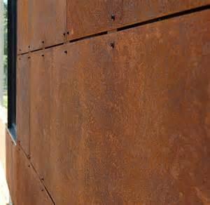 corten steel siding the beauty of corten steel