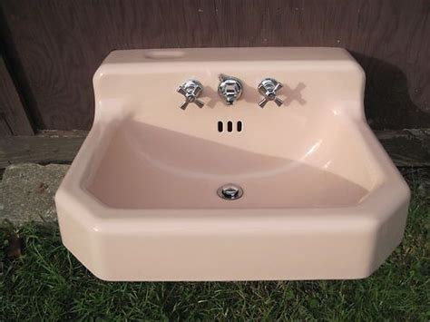 retro sinks bathroom pink bathrooms american standard and bathroom sinks on