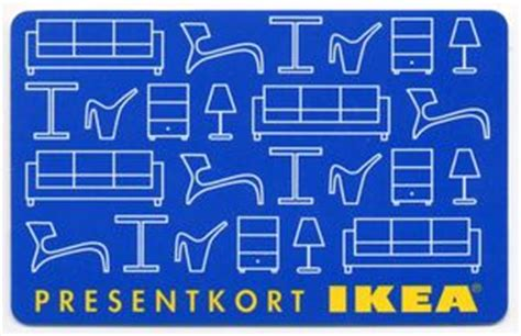 Ikea Gift Card Sweden - gift card bl 229 tt presentkort ikea sweden ikea col s ikea 001