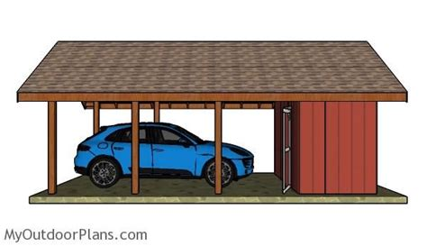 Carport Plans With Storage by 48 Best Images About Wooden Carport Plans On
