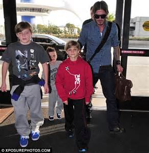 The Beckhams Arrive In Los Angeles by David Beckham Tries To Rewind The Clock As He Revisits His