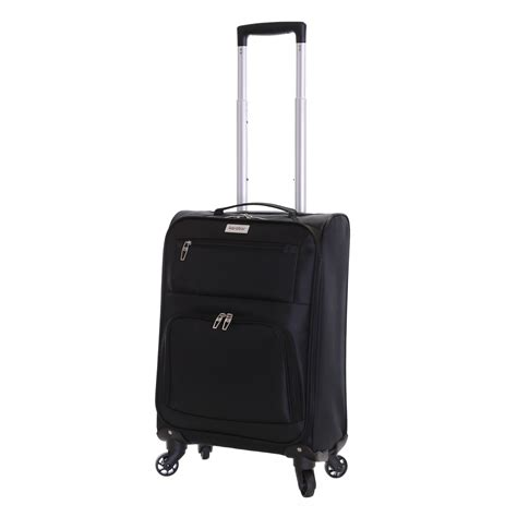 large cabin baggage lightweight 4 wheeled large cabin trolley luggage