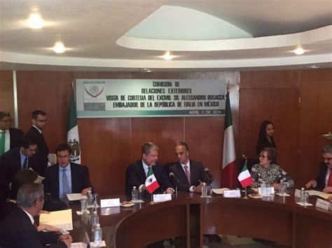 commissione esteri el embajador de italia alessandro busacca ha encontrado