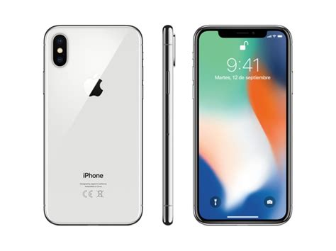 ebay iphone x iphone x apple 256 gb plata ebay