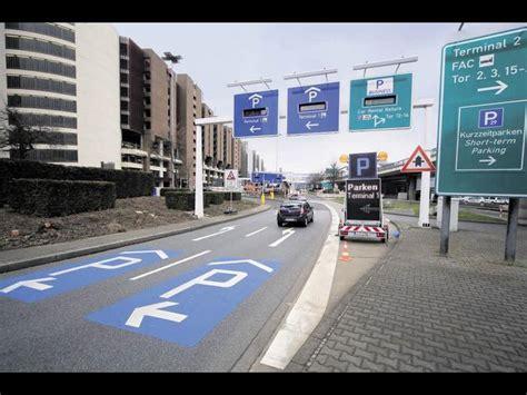 Frankfurt Motorrad Parken by Umbauten Am Terminal 1 Sorgen F 252 R Behinderungen