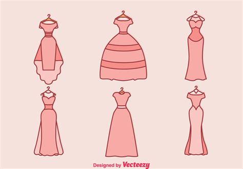 Wedding Dress Vector by Wedding Dress Vector Free Vector Stock