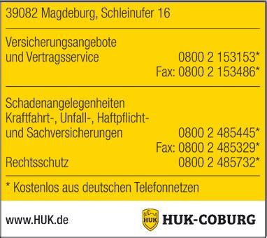 Huk Coburg Kfz Versicherung Schadensmeldung by Huk Coburg Schaden Melden In Magdeburg Das 214 Rtliche