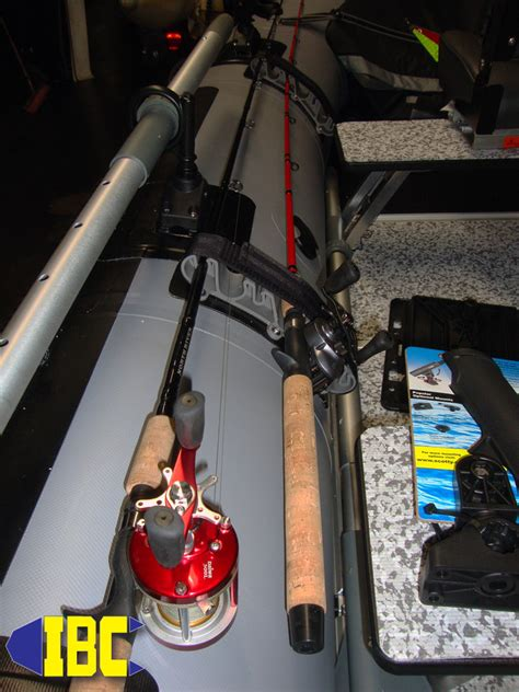 inflatable boat fishing rod holders diy rod holder for inflatable boat diy do it your self