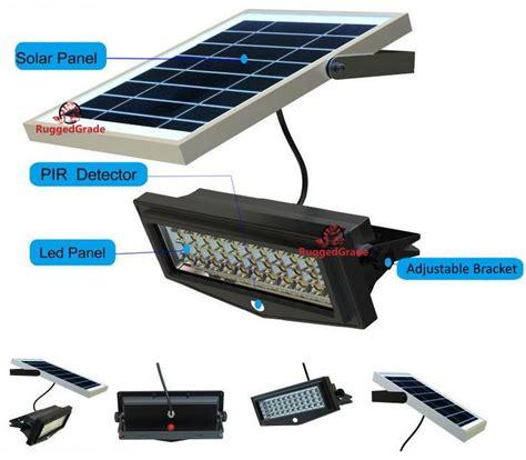 1000 Lumen 10 Watt Solar Flood Light Commercial Grade Commercial Solar Flood Lights