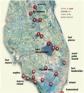 everglades trail trail map