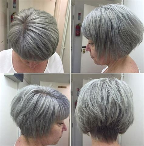 short gray layered bob 66 best images about silver style on pinterest emmylou