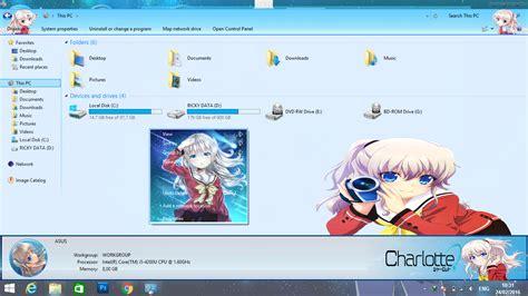 theme windows 8 1 anonymous download theme anime windows 8 10 charlotte