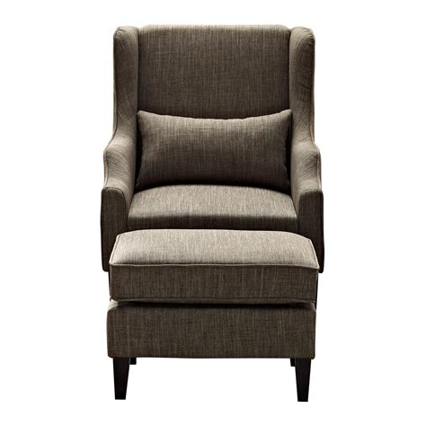 club chairs with ottoman simpli home ashbury wingback club chair and