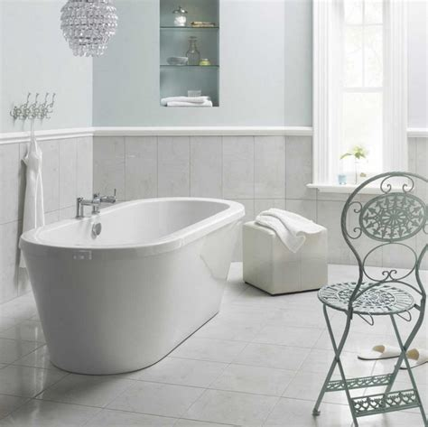 white bathroom floor tiles bathroom white floor tiles bathroom with iron chair