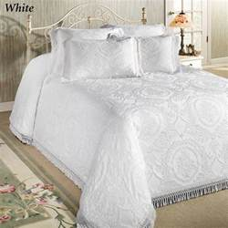 Matelasse Coverlet White Bedspreads Images Frompo 1