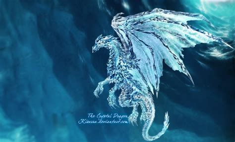 the crystal dragon by kisarra on deviantart