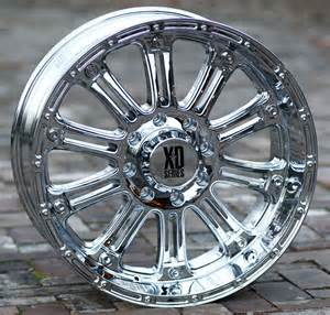 Chrome Wheels For My Truck 18 Inch Chrome Wheels Rims Xd 795 Ford F250 350 Superduty