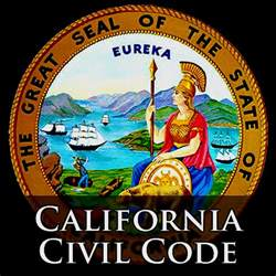 why does crooks a copy of the california civil code