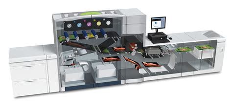 Mesin Xerox C 1000 digital printing spot shine on printing with gold and silver metallic inks